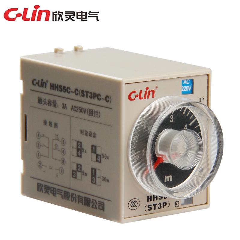 欣灵 HHS5C-C(ST3PC-C) 电子式时间继电器