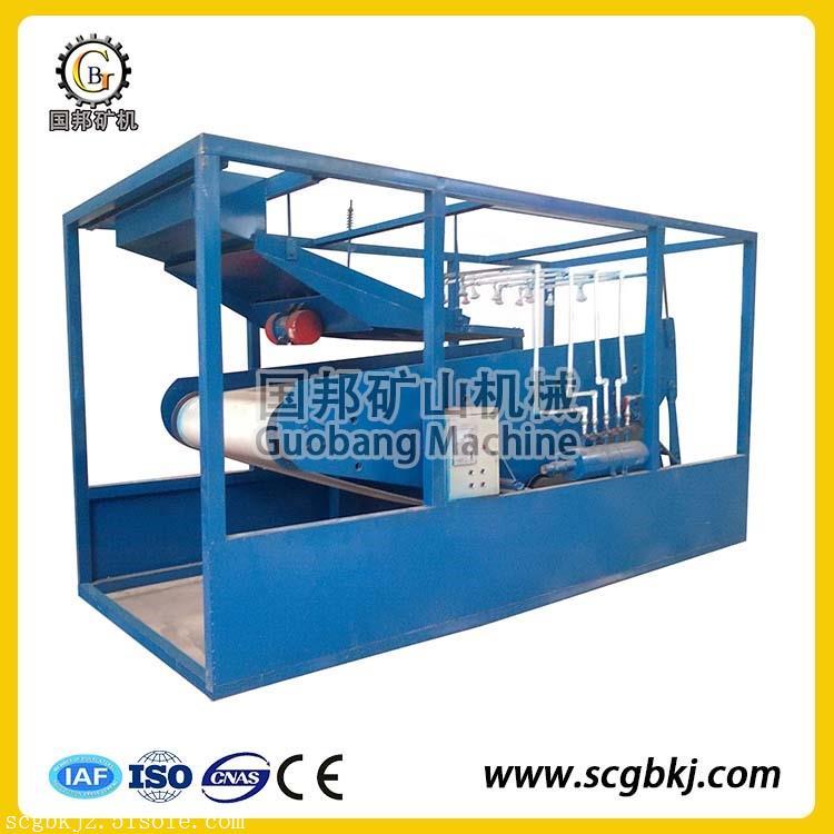 TLGP平板式高梯度磁选机 石英砂除铁设备 锰矿磁选机 强磁选机