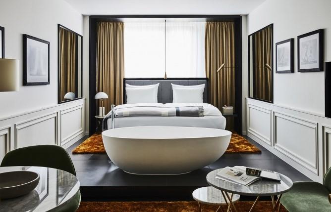 现代经典风格酒店装修设计-成都酒店设计公司